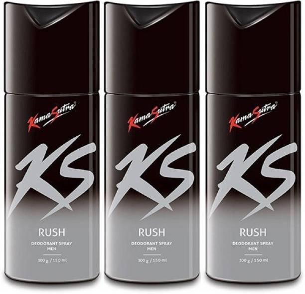 Kamasutra KS Rush Rush Rush Deodorant Spray  -  For Men