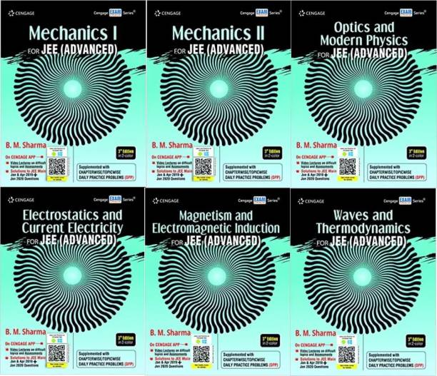 Cengage Mechanics I, Mechanics II, Electrostatics And Current Electricity, Magnetism And Electromagnetic Induction, Optics And Modern Physics, Waves And Thermodynamics For JEE (Advanced) (Physics 6 Books Set)