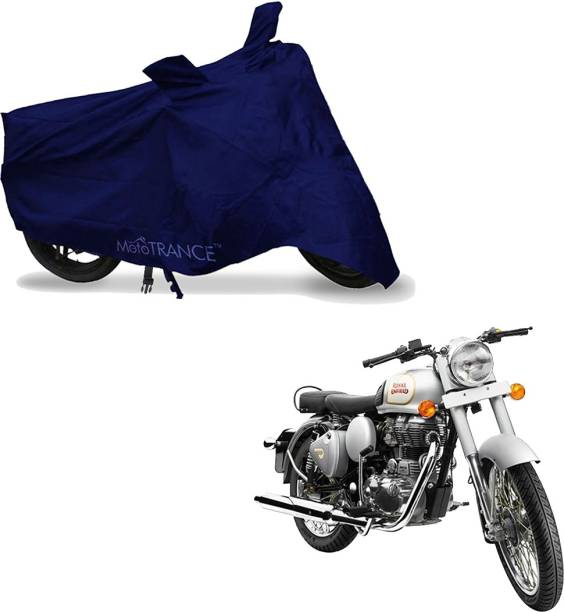 MOTOTRANCE Two Wheeler Cover for Royal Enfield