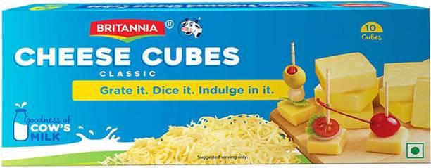 BRITANNIA Classic Processed cheese Cubes