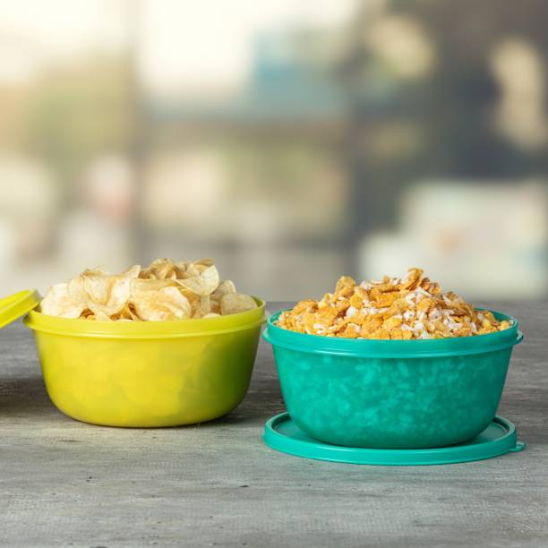 TUPPERWARE SS BOWL 1500 ML  - 1500 ml Plastic Grocery Container