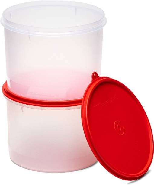 TUPPERWARE Idli Dosa Batter Snacks Container Super Storer Small 2pc  - 2500 ml Plastic Grocery Container