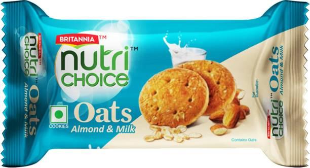 BRITANNIA NutriChoice Oats Cookies Milk Almond