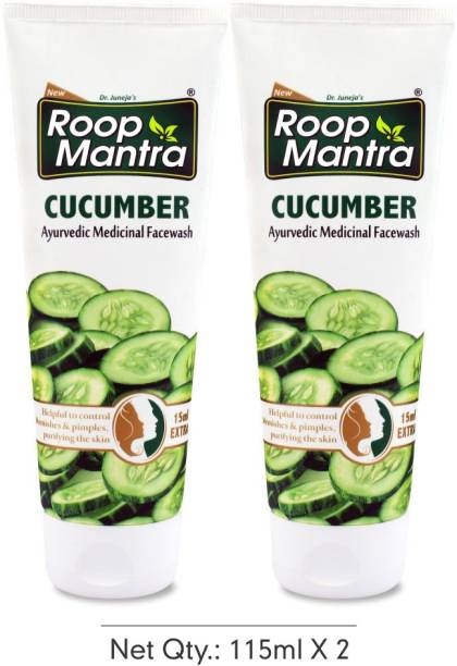 Roop Mantra Cucumber (Pack of 2)  Face Wash