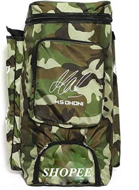 SHOPEE Cricket Kit Camouflage Backpack- White Print [CAT_5885]