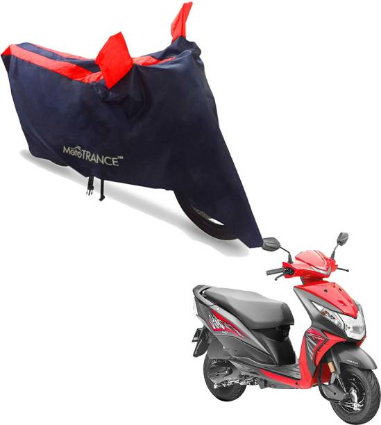 MOTOTRANCE Two Wheeler Cover for Honda