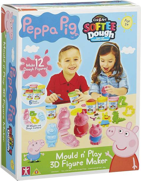 Peppa Pig Softee Dough Small Figure Kit for 3 Years above