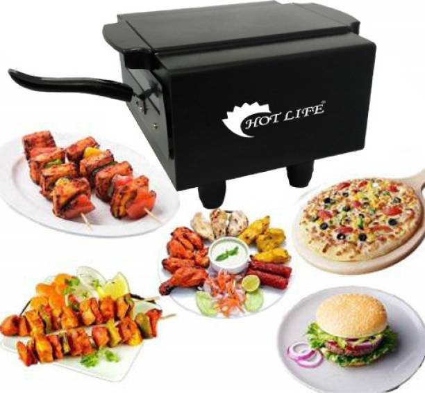 HOTLIFE Electric Tandoor with Auxiliary Equipment (Black) (14 Inch) Pizza Maker