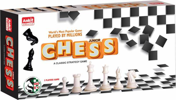 """Ankit BOARD GAME CHESS 10"""" JUNIOR Educational Board Games Board Game"""
