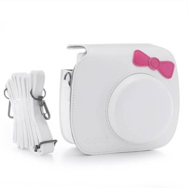 Stela Mini 9, Mini 8/ 8+ Case With Bow-Knot White Camera Bag(White)  Camera Bag