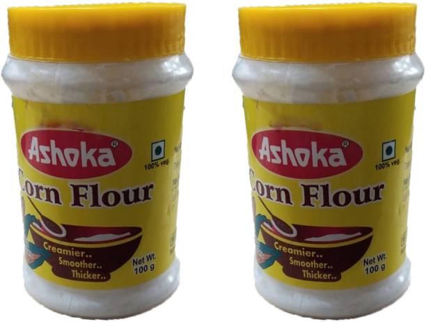 Ashoka PREMIUM CORN CORN FLOUR (100 g) PACK OF 2