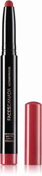 FACES CANADA Ultime Pro HD Intense Matte Lips + Primer 18 Red Bouquet 1.4g