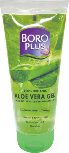 BOROPLUS 100% Organic Aloe Vera Gel