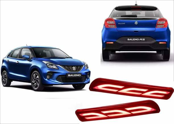 IMMUTABLE Premium Quality Car LED Rear Bumper Drl Brake Light BALENO T13 Car Reflector Light