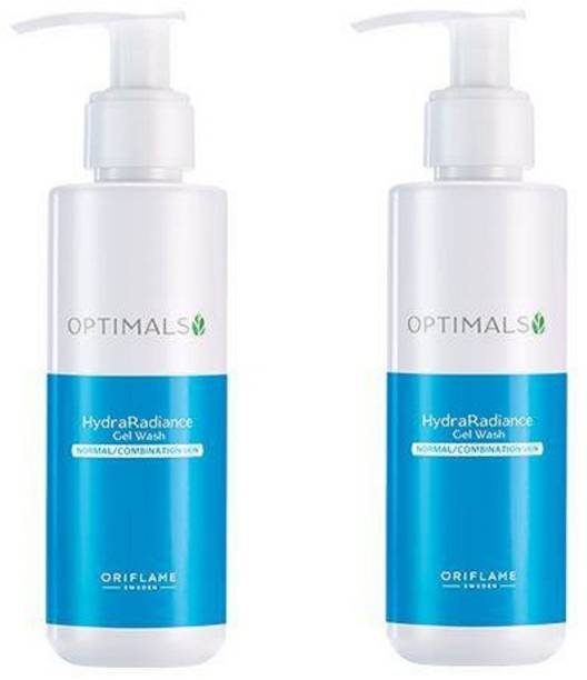 Oriflame Sweden HydraRadiance Gel Wash Pack OF 2 Face Wash