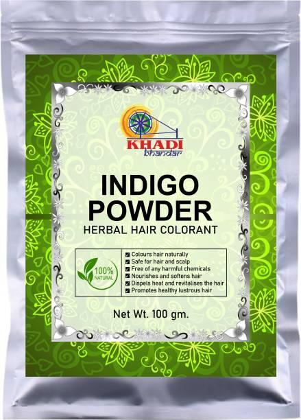 KHADI BHANDAR 100% Pure Indigo Powder Herbal Hair Colorant