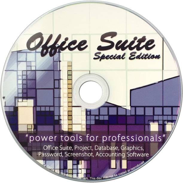 Compatible Office Suite 2019 on CD for Windows PC, 10, 8, or 7, Includes