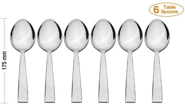 parage Stainless Steel Soup Spoon, Table Spoon Set