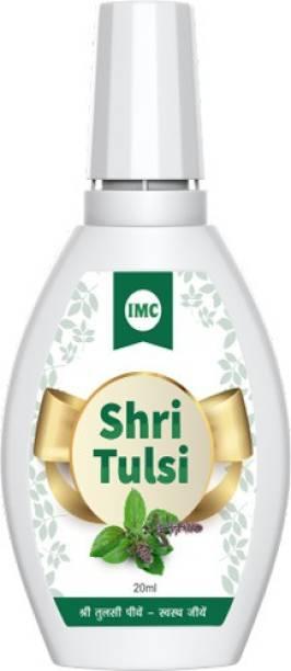 IMC Shri Tulsi Organic Natural and Herbal Health, Body and Skin Care Antiseptic Liquid (20 ml)