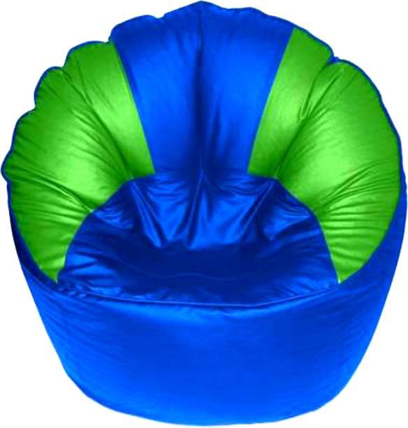RAGSTONE XXXL Chair Bean Bag Cover  (Without Beans)