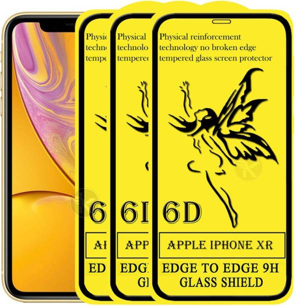 Dgeot Edge To Edge Tempered Glass for Apple iPhone XR