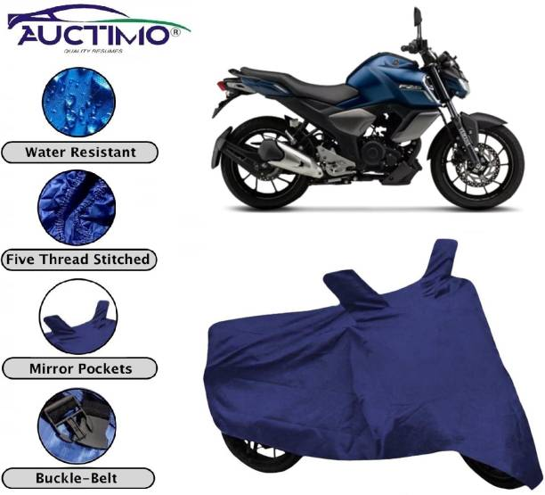 AUCTIMO Two Wheeler Cover for Yamaha