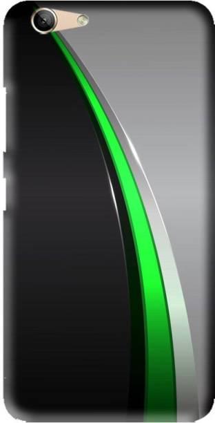 LEEMARA Back Cover for Lenovo vibe K5 Plus,A6020a46, Lenovo K5,A6020a40,A6020a41, Abstract, Grey And Green, PRINTED