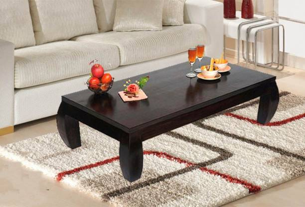 TimberTaste JASSI Low Height Solid Wood Coffee Table