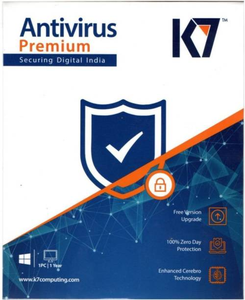 K7 2020 1 PC 1 Year Anti-virus (Email Delivery - No CD)