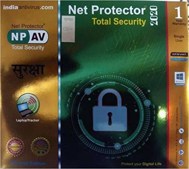 Net Protector 2020 1 PC 1 Year Total Security (Email Delivery - No CD)