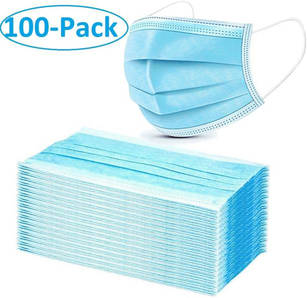 Alcove 3Ply Surgical Mask(Pack Of 100) 3PLY-100 Surgical Mask