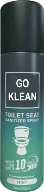 go klean Toilet Spray - Disinfectant Herbal Spray Toilet Cleaner