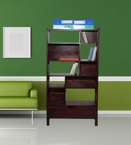 Flipkart Perfect Homes SOHANA Book Shelf Solid Wood Open Book Shelf