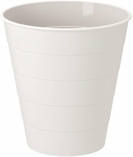 IKEA Waste Bin, White, 10 l (3 gallon) PP (Polypropylene) Dustbin