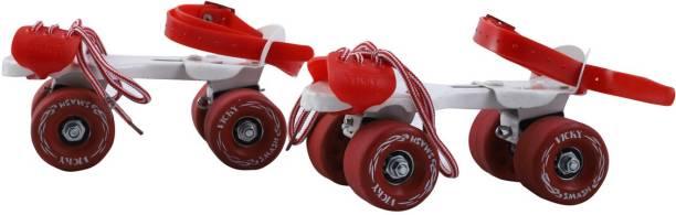 VICKY Smash Baby Red Roller Skates Quad Roller Skates - Size 4-5 UK