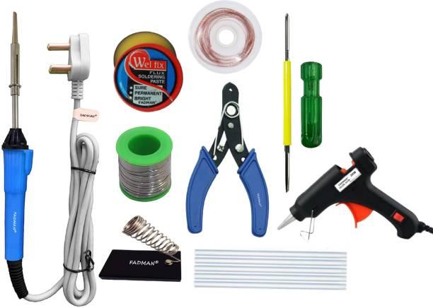 FADMAN Basic Bundle Electric 25W Soldering Iron Kit - Set of 9 25 W Simple