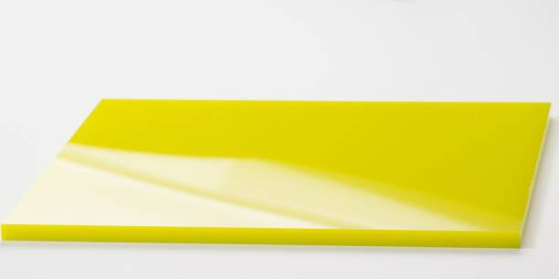 THE LABWORLD Yellow acrylic sheet 30 cm Acrylic Sheet