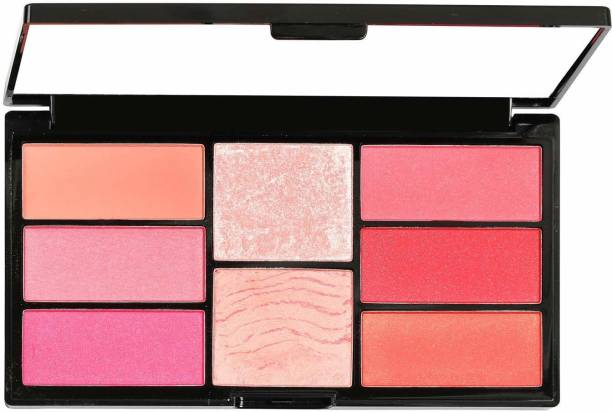 SWISS BEAUTY Pro Blush & Highlight Palette SB-880