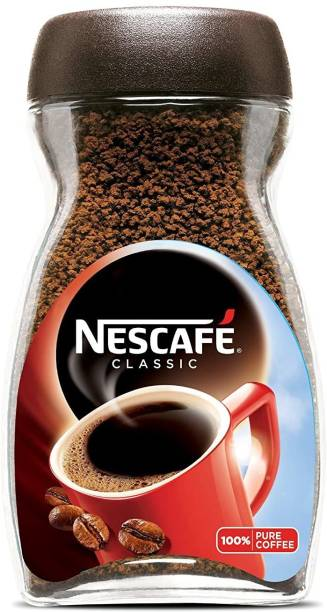 Nescafe Classic Pure Soluble Coffee - 100g Instant Coffee