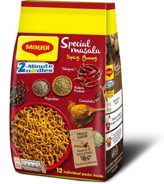Maggi 2 Minute Special Masala Instant Noodles Vegetarian