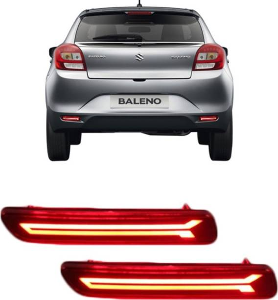 IMMUTABLE Premium Quality Car LED Rear Bumper Drl Brake Light D27 Car Reflector Light
