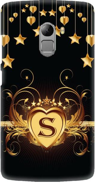 LEEMARA Back Cover for Lenovo Vibe K4 Note, Lenovo K4 Note (A7010a48), A7010, S, S Letter, S Alphabet, S Word, PRINTED