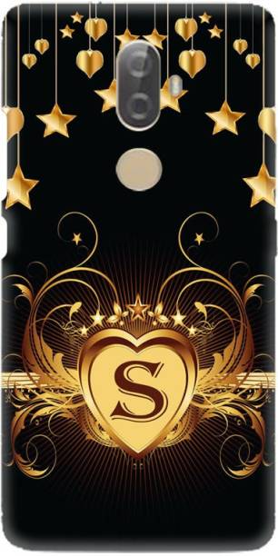 LEEMARA Back Cover for lenovo K8 Note, S, S Letter, S Alphabet, S Word, PRINTED BACK COVER