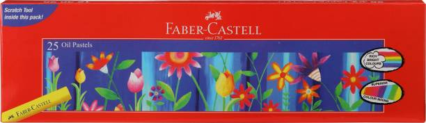 FABER-CASTELL 25 Oil Pastels