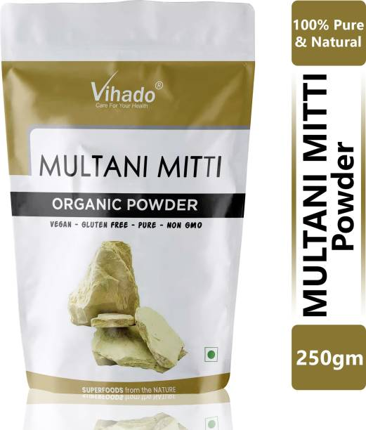 Vihado Best treatment Ayurveda Multani Mitti Powder - Face Pack 250g (Pack of 1)