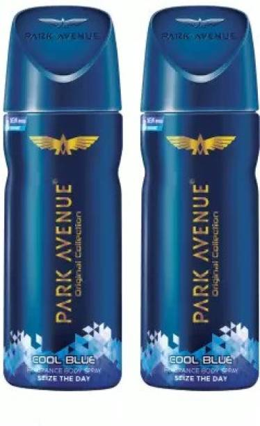 PARK AVENUE Cool Blue Seize the Day Body Spray  -  For Men