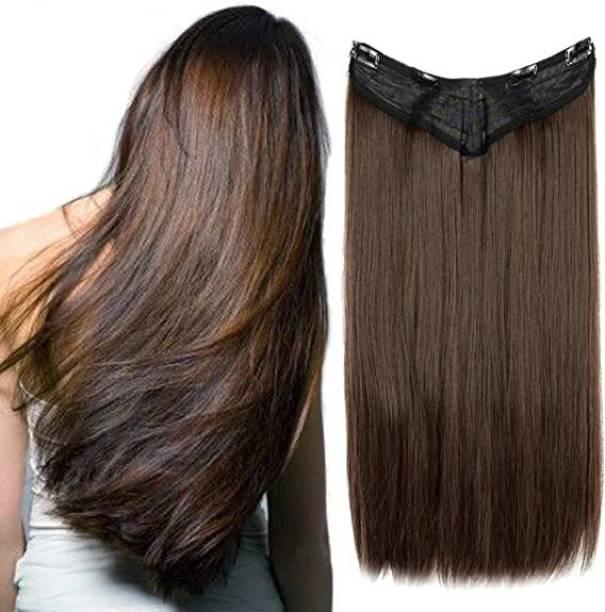 Blushia Beautuful Look Premium Quality 5 Clip In Hair Extension