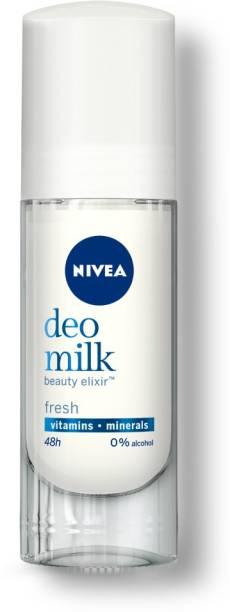 NIVEA WOMEN Deodorant, DEO MILK Fresh Roll On, 40ml Deodorant Roll-on  -  For Women