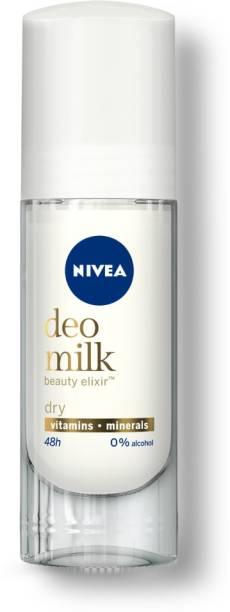 NIVEA WOMEN Deodorant, DEO MILK Dry Roll On, 40ml Deodorant Roll-on  -  For Women