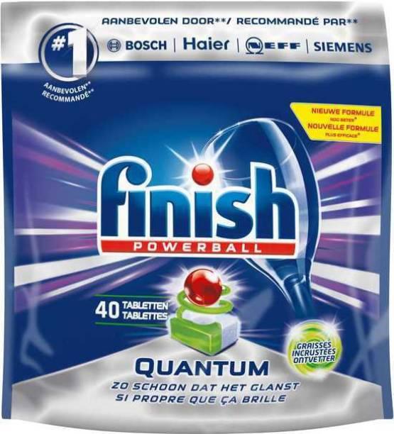 Finish Quantum Regular Dishwasher Tablet (Imported) Dishwash Bar